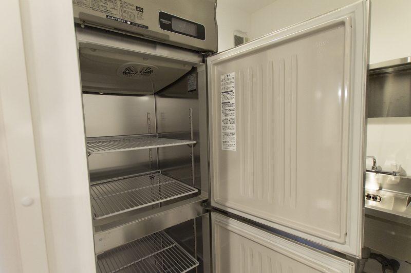 コトモノカフェ 冷凍冷蔵庫